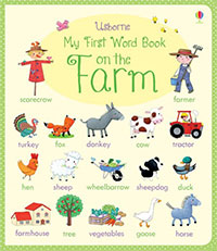 My First Word Book on the Farm